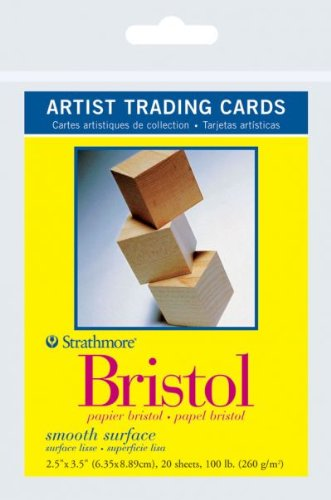 Strathmore - Trading Card Bristol 300 Series 20 Sheet Pack 2.5