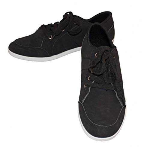 Moza-X Chaussures à lacets Hommes - Men Casual Low Shoe schwarz