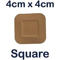 Steroplast Sterostrip Erste-Hilfe-Wundpflaster, waschfest, quadratisch, 4 x 4cm, 50 Stück preisvergleich bei billige-tabletten.eu