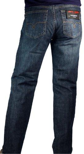 Pierre Cardin Herren Straight Jeans Blau