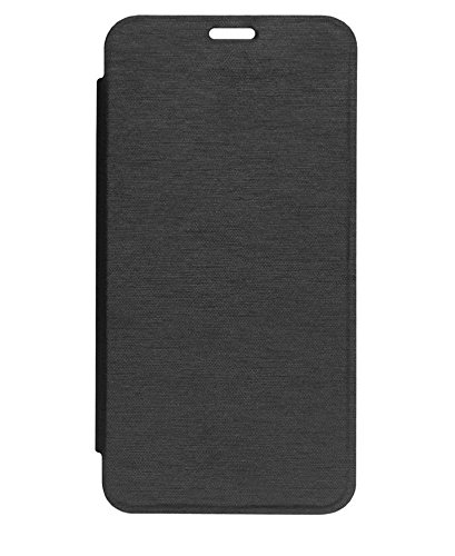 GSMOBILE™ Synthetic Leather Normal Flip Case Cover For Panasonic T31-Black  available at amazon for Rs.199