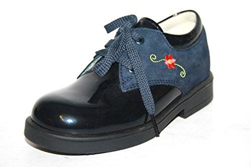 Jela 562596 Kinder Mädchen Schuhe Halbschuhe, Blau (Ozean)
