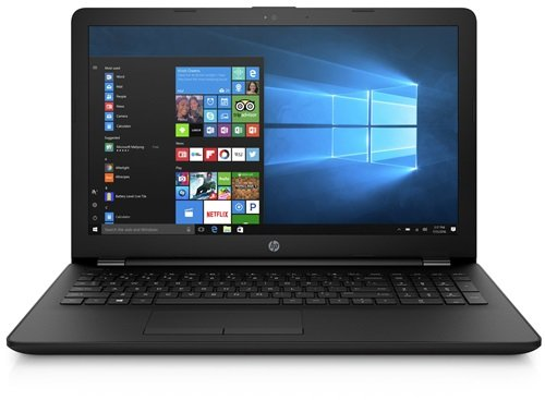 HP (17,3 Zoll) Notebook AMD 4 Compute Cores, 4GB RAM, 500GB S-ATA HDD, AMD Radeon R2, HDMI, Webcam, USB 3.0, WLAN, DVD-Brenner, Windows 10 Professional 64-Bit. Office 2018