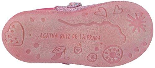 Agatha Ruiz de la Prada 152936, Mocassins fille Rose - Pink (B-FUCSIA (SERRAJE))