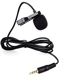 BOYA BY-LM10 Microphone à Condensateur Micro-cravate Omnidirectionnel Audio Enregistrement avec 1.2m Câble Noir Pour iPhone 4s 5S 6 6 Plus, iPad 3 4 Mini Air; Samsung S5 S6 Edge Note 3 4 LF694