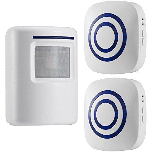 gzcrdz inalámbrico entrada alerta: Sensor de movimiento por infrarroj