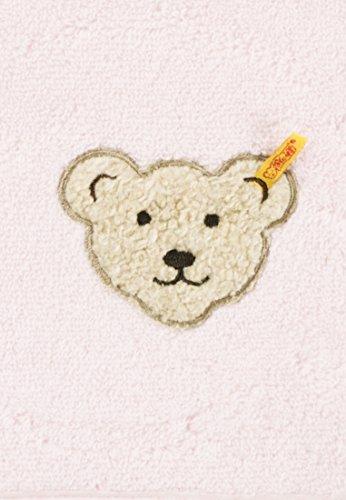 Steiff 0002980 Kleines Handtuch, Rosa - 3