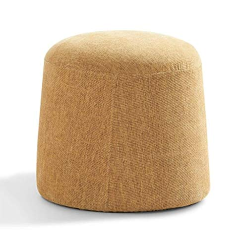 RFJJ Osmanische Fußhocker Bambus Hocker Tritthocker Stoffwechsel Schuhe Hocker Einfache Sofa Couchtisch Niedriger Hocker Wohnzimmer Kleiner Block Kreativer Kleiner Hocker - 3 Blocks Hocker