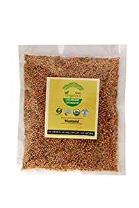 Arena Organica Fresh Mustard Seeds Whole Sarson Pack of 4 100gm Each
