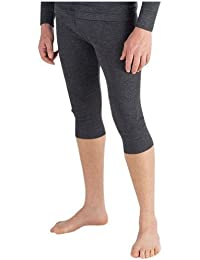 Mens Thermal Underwear 3/4 Length Long Johns