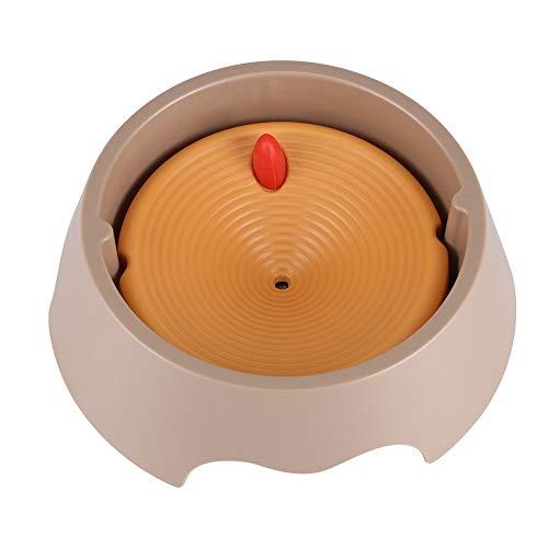 Fdit 2 in 1 abnehmbare Wasserspender Trinkbrunnen Wassernäpf Katze Hund Schüssel verdickte Kunststoffplatte Innovative Anti Spill Anti Staub Anti Würgen Wasser Schüssel