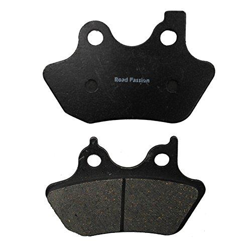 Road Passion Vorderer Bremsbelag für Softail Deuce/I2000-2007/Softail Series:/Sportster 1200 XL Custom(2000-2003)/Sportster 883 XLH / XL2000-2003 -