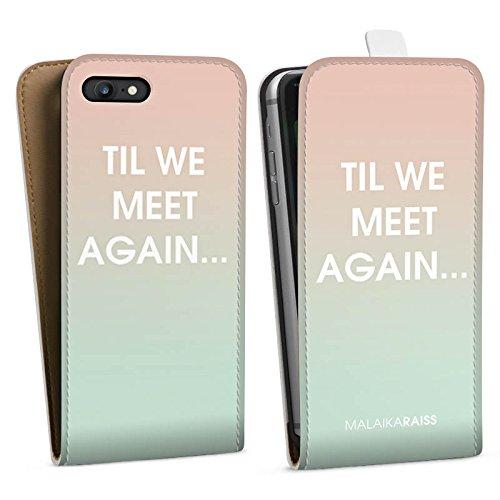 Apple iPhone X Silikon Hülle Case Schutzhülle Sprüche Farbverlauf MALAIKARAISS Downflip Tasche weiß