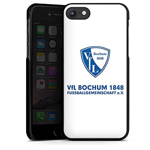 Apple iPhone X Silikon Hülle Case Schutzhülle VfL Bochum Fanartikel Bundesliga Hard Case schwarz
