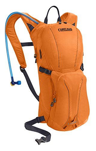 CamelBak Lobo - Mochila de hidratación, Color Naranja, 3 l