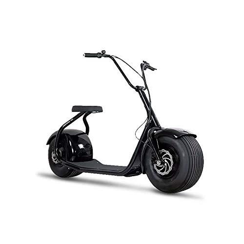E-Scooter Chopper N1, 2000 Watt E-Motor, 45 km/h, E-Roller, Elektroroller, E-Tretroller,Elektro-Roller, Produktvideo, Schwarz