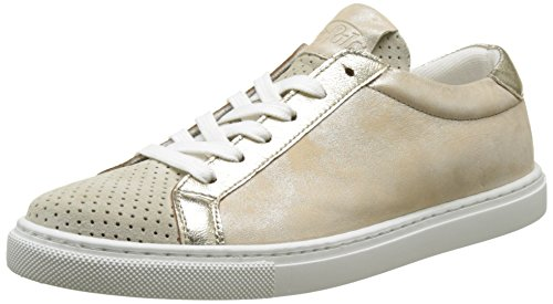 Buffalo Damen ES 30906 Suede Sneaker, Beige (Champagne 17), 39 EU