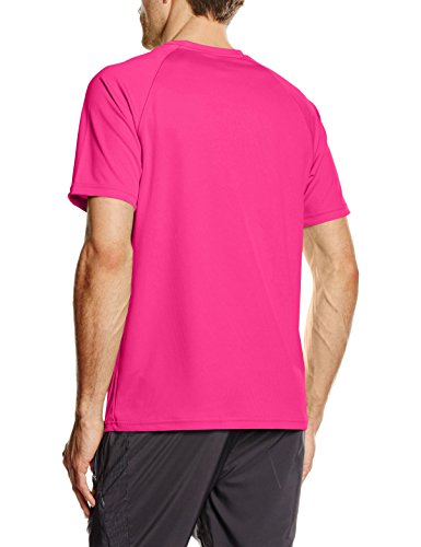 Fruit of the Loom Herren T-Shirt Performance Rosa - Pink (Fuschia)