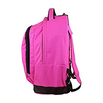 Nba Milwaukee Bucks Expedition Wheeled Backpack, 19-inches, Pink 2
