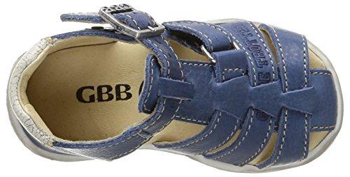 GBB Manolo, Chaussures Bébé marche bébé garçon Bleu (12 Vte Bleu Dur Dpf/Filou)