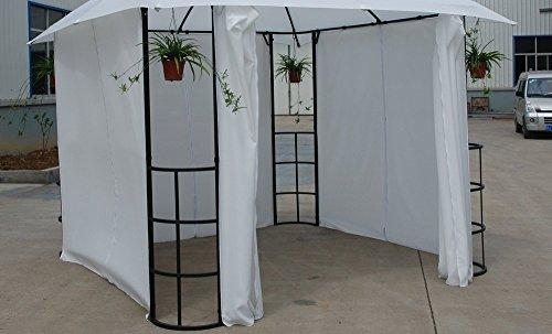 Set di tende per gazebo in poliestere xh cm disraeli