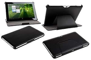 Ultra Slim Acer Iconia Tab A710 A711 A700 A701 Kunstleder Tasche Case Etui Sleeve Cover Schutzhülle Hülle