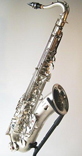 Original SYMPHONIE WESTERWALD Design Tenorsaxophon Tenor Saxophon, Matt Nickel, inkl. Luxus-Hartschalenkoffer und Zubehör, Neu