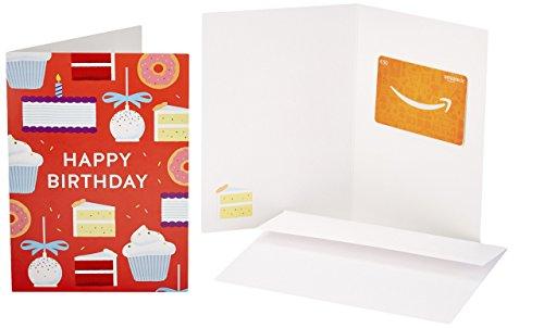 Amazon.de Geschenkkarte in Grußkarte - 30 EUR (Geburtstagskuchen) (Geschenk-karte Amazon Geburtstag)