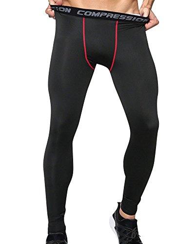 Leggings De Compresión Para Hombres Mallas Térmicas Running Deportes Pantalones