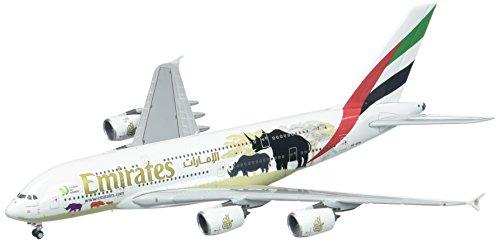 Gemini Jets Emirate A380United für Wildlife # 2New Logo a6-eer Maßstab 1: 400Druckguss-Modell Flugzeug Druckguss Flugzeug