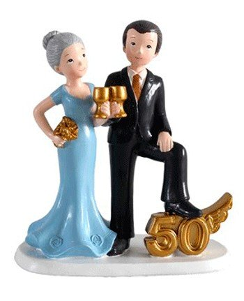 Disok Cake Figure 50 Anniversary, Cups Model, Multicolor (2869)