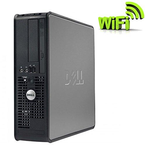 Dell Optiplex 755SFF-Computer Desktop--Grau (Intel Core 2Duo E6550/2.33GHz, 2GB RAM, 250GB HDD, CDRW/DVD, WiFi, Windows Vista Profi)