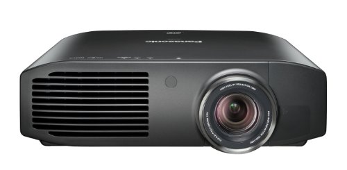 Panasonic PT-AT6000E LCD-Projektor (Full HD, Kontrast 500000:1, 1920 x 1080 Pixel, 2400 ANSI Lumen) schwarz