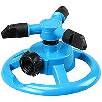 Zhhlaixing 360°Circle Rotating Sprinkler Automatic Irrigation System Tools,Adjustable Garden Sprinkler