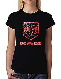 avocadoWEAR RAM Logotipo Mujer Camiseta XS-3XL