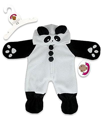 Build your bears wardrobe Déguisement pour ours en peluche en forme de panda