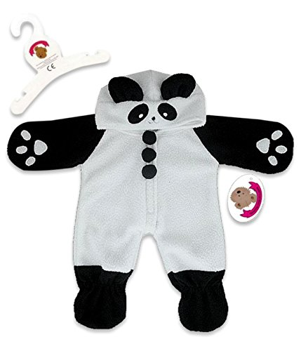 da Onesie Outfit Teddy Bear Clothes Costume (Panda Bear Outfit)