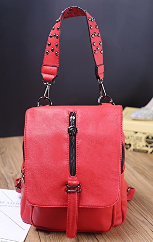 Ghlee , Zaino Casual  donna Red