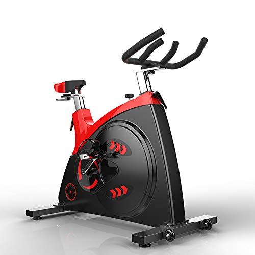 GSTARKL Cyclette da Allenamento, volano da Supporto Braccia Sensori delle Pulsazioni con Schienale Ripiegabile Unisex-Adulto Home Trainer Bici da Fitness Pieghevole con Computer di Allenamento
