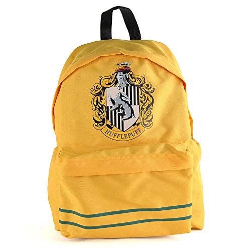 Harry Potter Backpack Hufflepuff Half Moon Borse