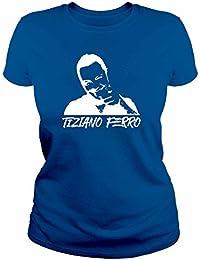 MUS0001D T-shirt maglietta donna TIZIANO FERRO idea regalo originale
