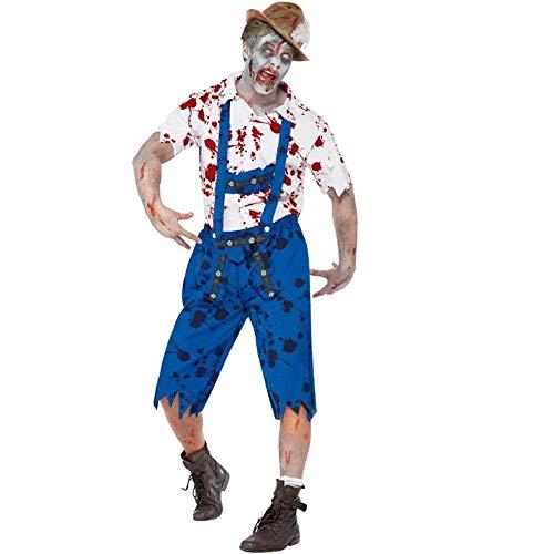 schreckliche Maskerade blutigen Arzt Cosplay Zombie Blut Krankenschwester Kleid Trick Kostüm Kleidung für Event (Size : M) ()