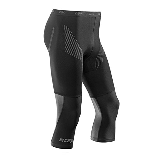 CEP Herren Laufhose 3/4 Base Tight WU57 Black