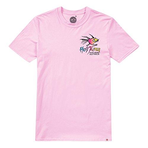 Hot Tuna Herren T-Shirt Rainbow Pink (Light Pink)
