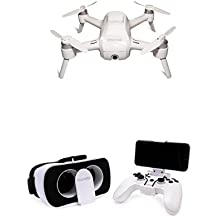 Yuneec Breeze kompakter Quadrocopter mit Premium 4K-UHD-Kamera (24 cm Durchmesser, 4K UHD Videofunktion, 13 MP) + Yuneec FPV Headset & Controller Kit, Virtual Reality