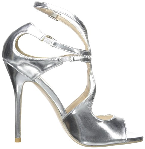 Pleaser  Amu15/b,  Damen Pumps Slv Met Pu