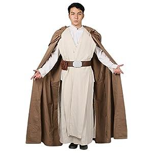Déguisement Cosplay Costume Deluxe Homme Vêtement Tenue Skywalker Suit Robe  Cloak pour Adulte Halloween Accessoires 38c350189190