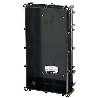 Aiphone gf-2b Eckgehäuse two-module Backbox für die GF, GH, und GT Serie Modular multi-tenant Eintrag Sicherheit Systemen