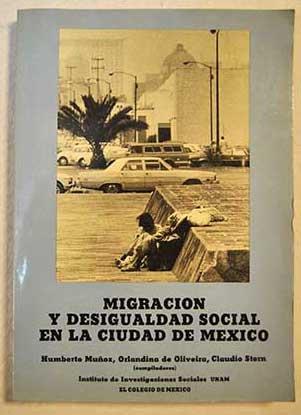 Migración y desigualdad social en la ciudad de México