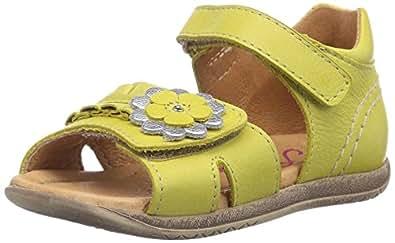 FRODDO Baby Girls, Chaussures premiers pas pour bébé (fille) - Jaune - Jaune, 24 EU